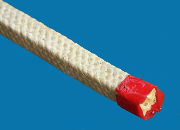 Eck-Aramidfaserverstärkte Graphit-PTFE-Verpackung